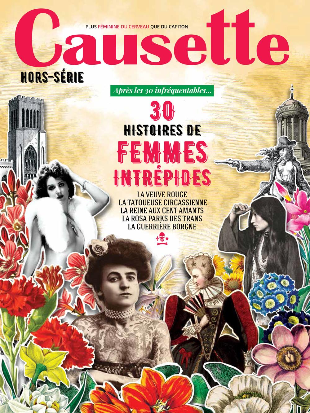 couverture magazine causette